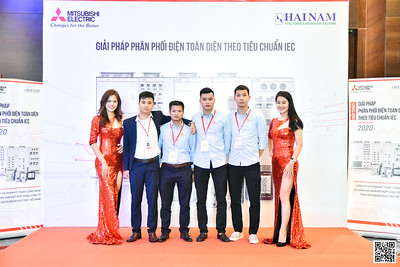 Mitsubishi Electric Vietnam | HỘI THẢO GIẢI PHÁP PHÂN PHỐI ĐIỆN TOÀN DIỆN THEO TIÊU CHUẨN IEC tại Hà Nội | QR Code Photoobooth | Chụp hình nhận ảnh bằng QR Code | Ha Noi Photo Booth Vietnam