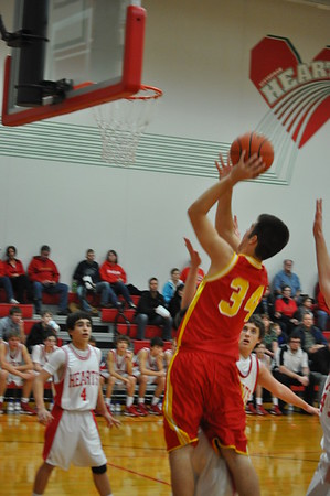 Fresh/Soph vs Effingham 12/13/12
