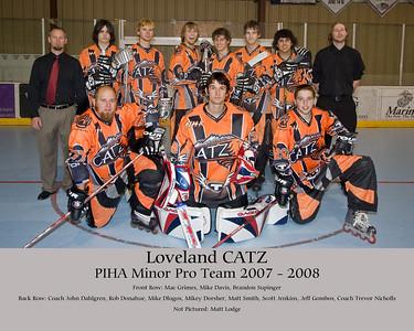 Catz Team Photos 2007/08