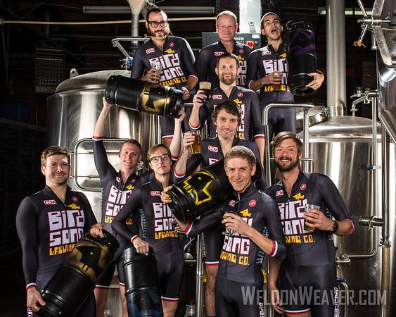 2013-2014 Bird Song Brewery Cyclocross Team