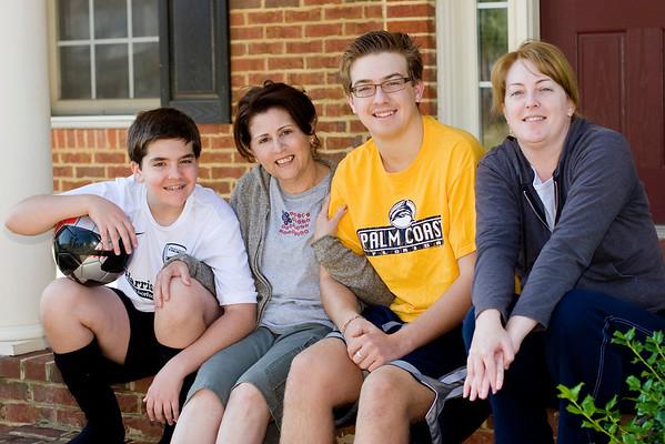 Mom visits us 2009