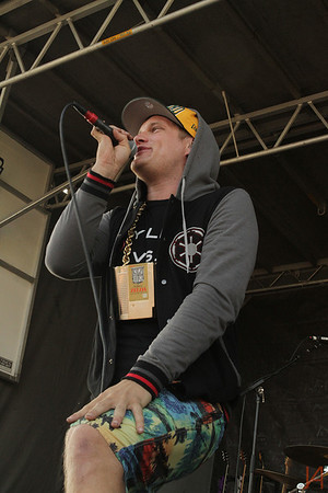MC Lars @ Vans Warped Tour 2013