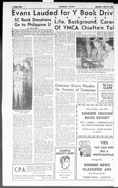 Summer News, Vol. 3, No. 15, July 26, 1948