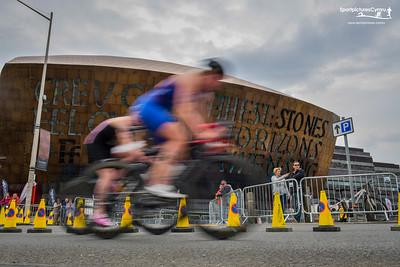 Cardiff Triathlon - Bike Pictures 1