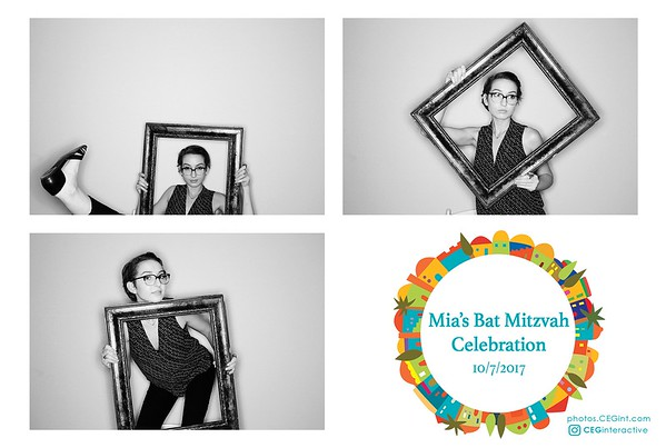 2017-10-07 Mia's Bat Mitzvah HD Photo Booth