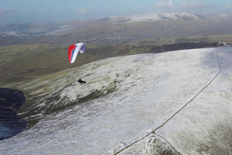 Pete (Delta) above snowline