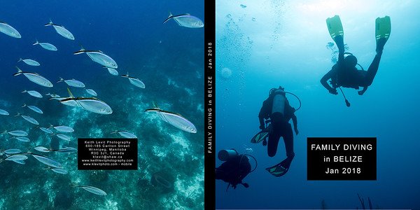 Belize Underwater 2018 - Book