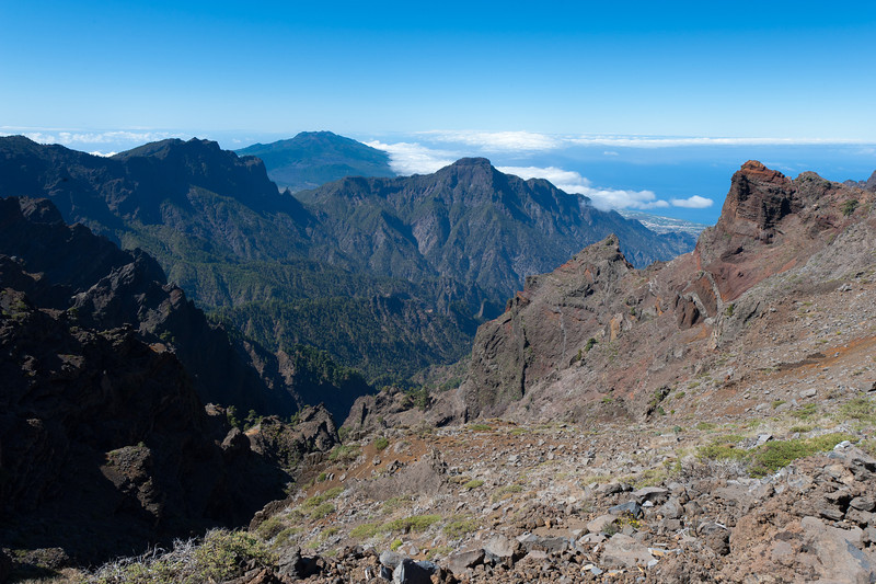 Mountain landscape in La Palma, Canary Islands, Spain