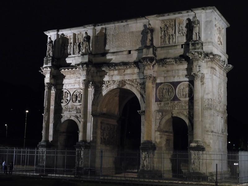 Arco di Constantino - the inspiration for the Arc de Triomphe in Paris
