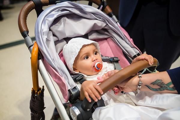 Isabel jean's 1st Baptism