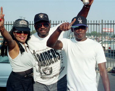 Gary G's NFL Team - Da L.A. Raiders Los Angeles, Calif 1992