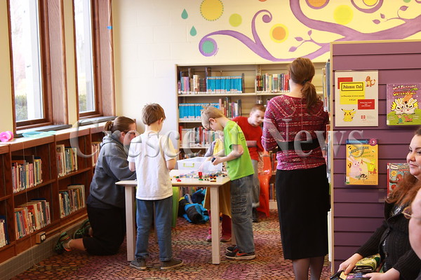 03-27-15 News Lego Party @ Defiance Public Library