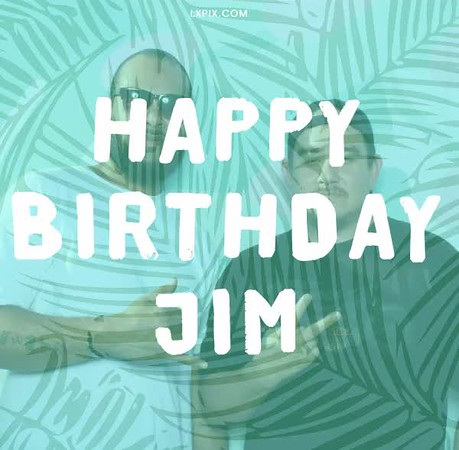Jim's 40th Birthay - GIF animation