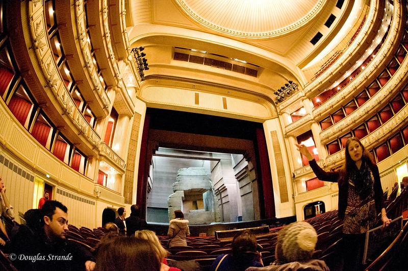 Vienna opera house interior