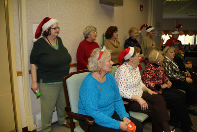 Handbells, Salvation Army Older & Bolder Group, Maple Shade, Nursing Home, Nesquehoning (11-30-2011)