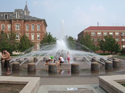 Purdue Fountain