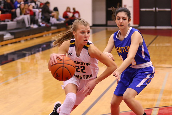 Basketball Girls Varsity Districts vs Lawton - KCHS 3/4/19