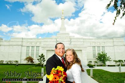 Wedding & Newlywed Photographs (Columbus Ohio LDS Temple)