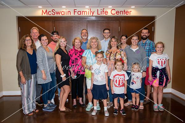 McSwain family life center dedication