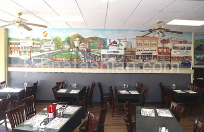 Wall Mural Paintings at The Pepper Pot - November 4, 2016
