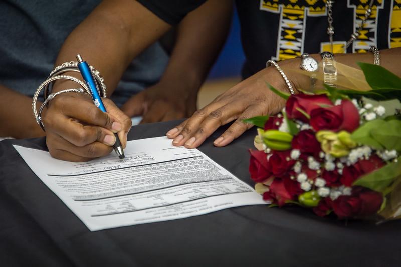 Jasmine, William,s Scholarship, Signing, 05-15-15, 2015, NCHS-23