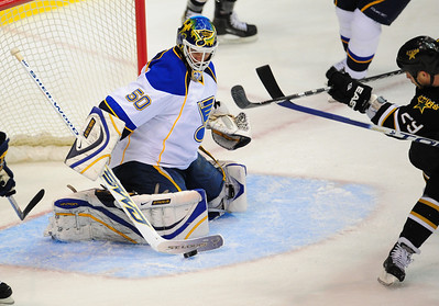 NHL: Dallas Stars vs St. Louis Blues 040409