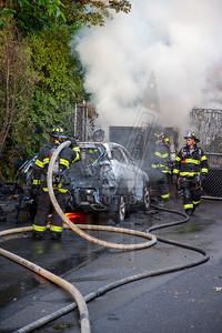 Hartford, Ct Auto and rubbish fire 6/20/20