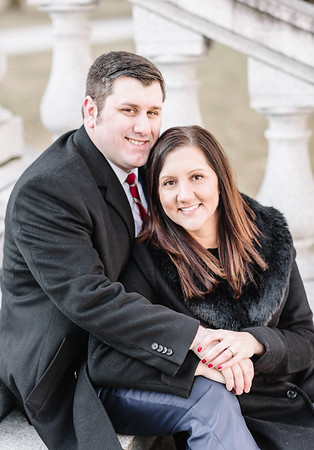 Alyssa and Chris' Engagement at the Harrisburg Capitol