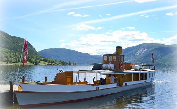 En tur med Bjoren på Byglandsfjorden