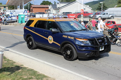 West Virginia Police Vehicles