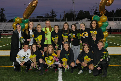 190208 LHS WOMEN'S SOCCER SENIORS NIGHT