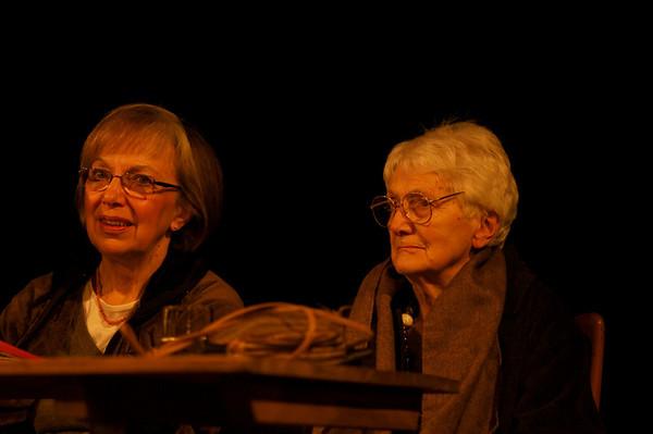 Marina Jarre, presentazione libro Neve in Val d'Angrogna - Pinerolo, libreria Volare, Teatro del Lavoro 12 marzo 2011
