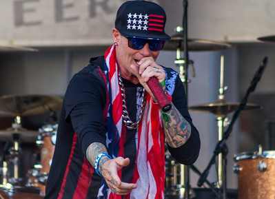 Vanilla Ice at the Lone Star Bike Rally