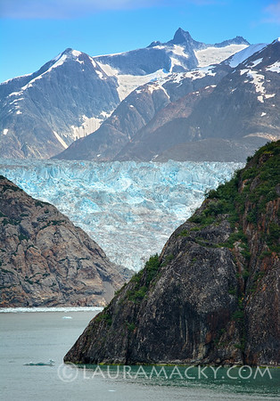 Sawyer Glacier Up Close