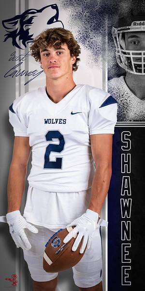 2019 Wolves Senior Banners