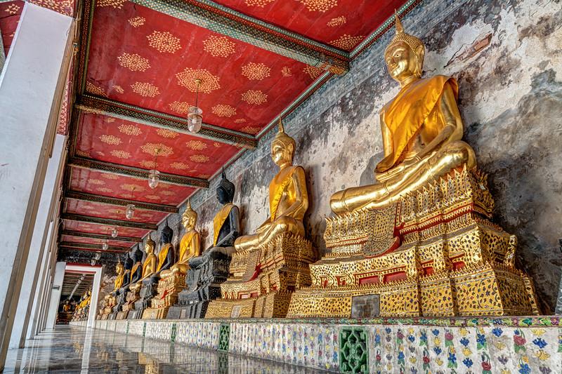 Buddhas at Wat Suthat