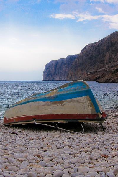 Overturned Boat - Greece