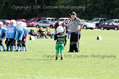 WB Little Warriors 3rd Grade Football vs Salem