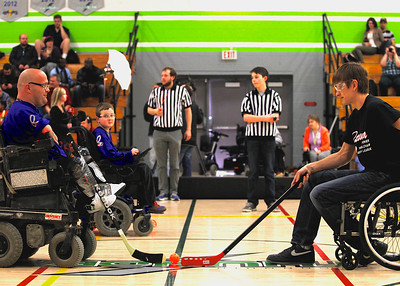 2014 Ottawa Power Wheelchair Hockey League Celebrity Game