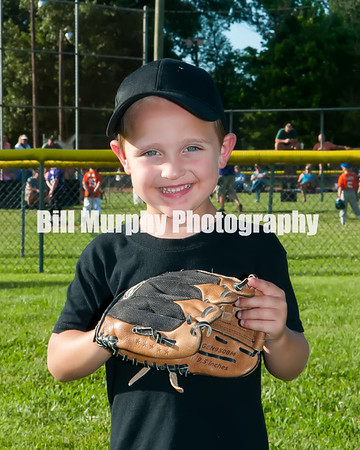 2016 3-4 Boys T-Ball  Black Team, June 9, 2016.