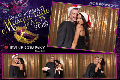 Irvine Company's Holiday Masquerade Party 2018