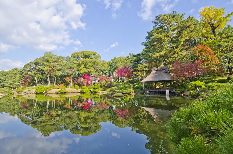 Shukkeien Japanese garden
