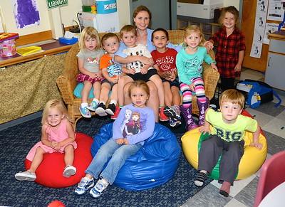 Ms deRham's Pre-K Class photos by Gary Baker