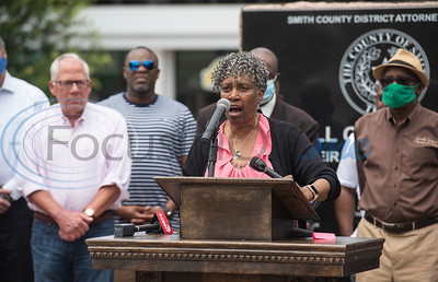 Prayer Vigil for Justice and Peace with Smith Co. Commissioner JoAnn Hampton by Sarah A. Miller & Kevin Hampton