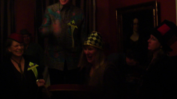 2 Video Clips from the Hat Party