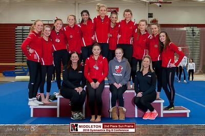 HS Sports - Gymnastics Big 8 Conference - Feb 17, 2018