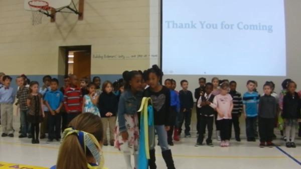 1st Grade video 5, Nov. 2013