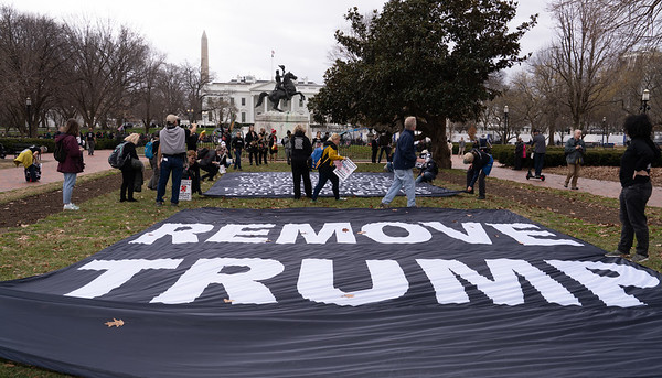 White House Protests: Close Guantanamo  & Remove Trump (11/11/20)