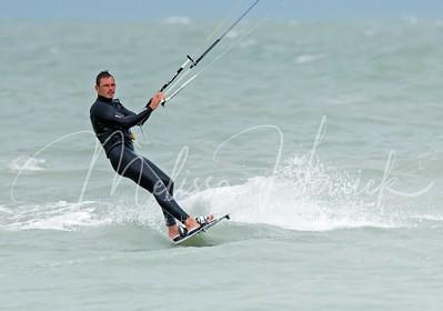 Kitesurfer at Englewood Beach