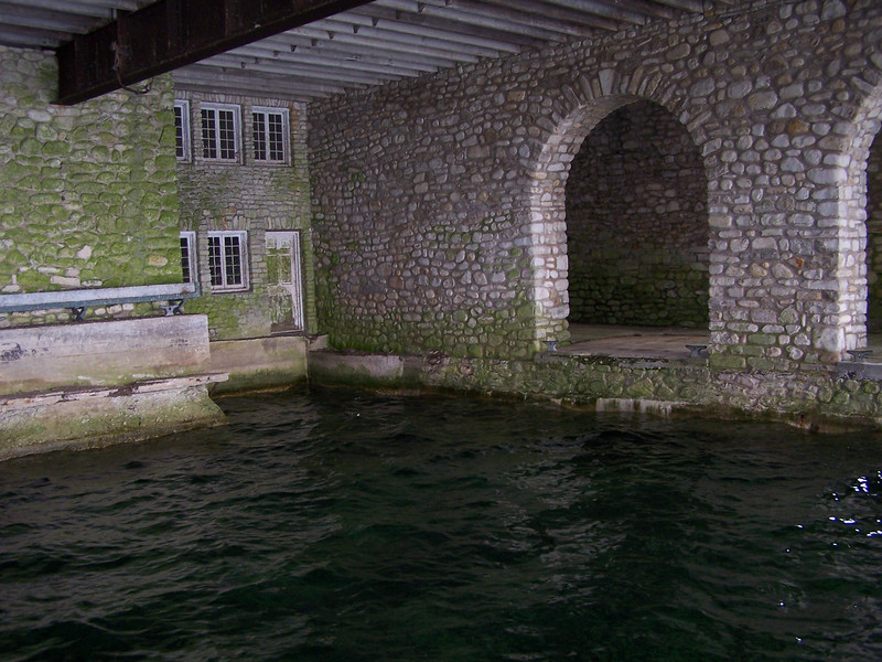 Thordarson boathouse on Rock Island